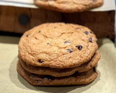 Fresh Baked Big Cookie
